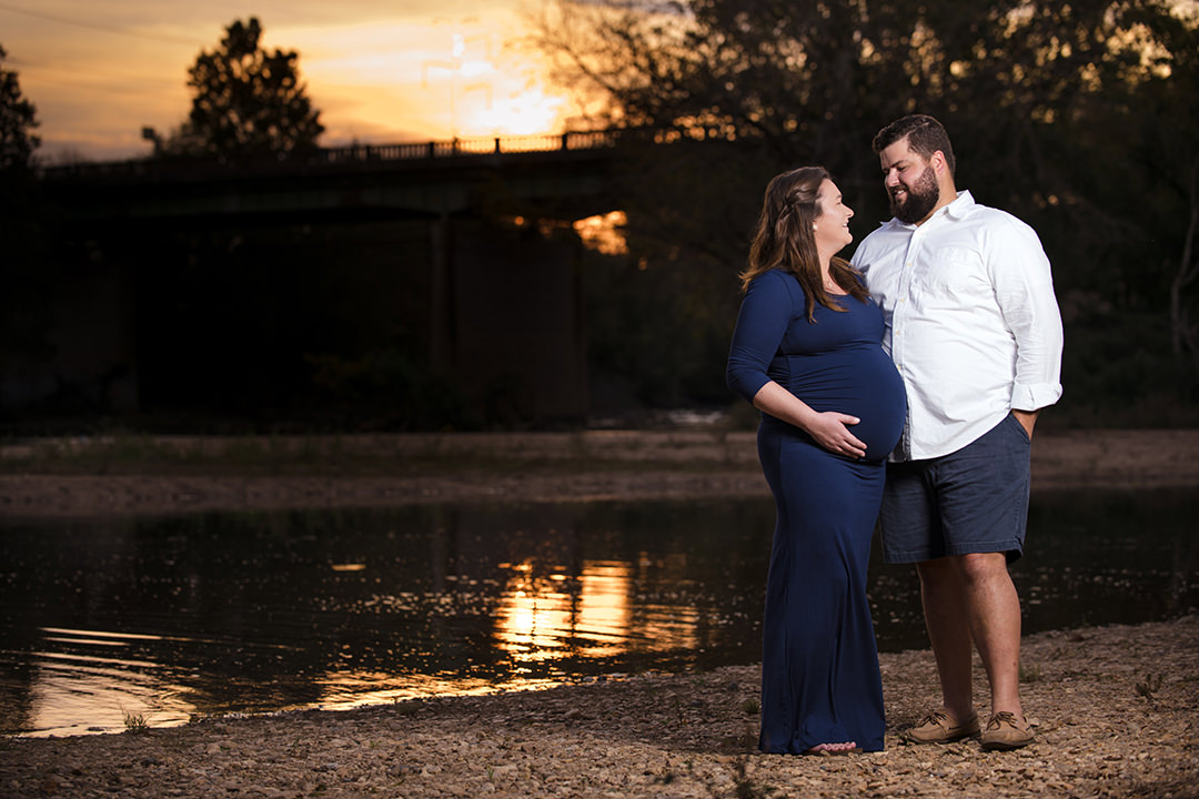 Rappahannock River Maternity photo